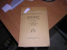 1937.Pléneuf sous l'ancien régime / Joly.Saint-Brieuc.avec lettre autographe