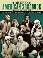 Great American Songbook COUNTRY MUSIC & Lyrics Play Piano Guitar PVG Music Book