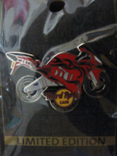 Niagara Falls New York Hard Rock Cafe pin - red motorcycle - USA HRC badge
