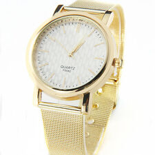 Luxury Gold Women Ladies Watches Stainless Steel Quartz Bracelet Wrist Watch