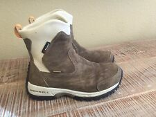 Womens Merrell Tundra Polartec Waterproof Tan 7 EUC