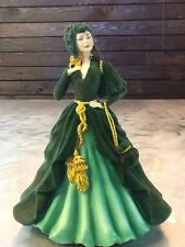 GONE WITH THE WIND HAMILTON GIFTS MUSICAL #950629 SCARLET O'HARA