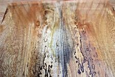 HAWAIIAN SPALTED mango  guitar bass craft exotic figured wood luthier curl #925