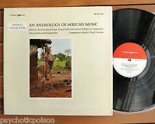 An Anthology of African Music LP Central African Republic Bärenreiter-Musicaphon