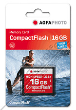 16 GB CF Compact Flash Karte AgfaPhoto 233X High Speed 16GB Agfa Photo