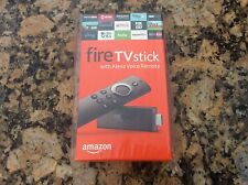 AMAZON FIRE TV STICK W/ALEXA Voice Remote Streaming Media Player! BRAND NEW!!