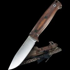 Couteau Ontario Bushcraft Utility Lame Acier 5160 Manche Noyer Made USA ON6527