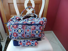 Vera Bradley weekender in Sun Valley pattern