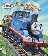 Thomas Saves Easter! (Thomas & Friends) (Glitter Board Book)-ExLibrary