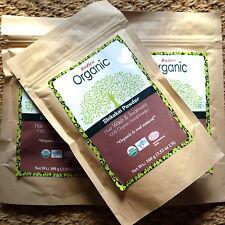Radico Organic Shikakai Seed Powder rein Bio-Pulver 100g vegan Puder zertifizier