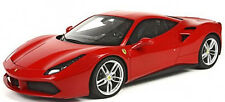 Burago Ferrari 488 GTB Red 1:18 Scale Diecast Model Car in Window Box