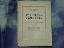CANTELLI VENERANDA DI RUBBIANO - UNA NUOVA COMMEDIA Ed. Luigi Morara 1957