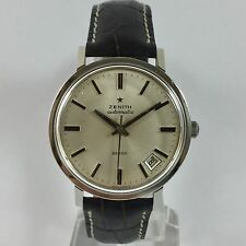 "OROLOGIO ZENITH ""28800"" AUTOMATIC FUORIMISURA IN ACCIAO - REVISIONATO CAL.2562PC"