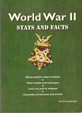 World War II, Stata and Facts, by Peter Darman (2009 Softcover)
