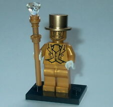 COLLECTIBLE MINIFIGURE Lego Custom Mr Pearl Gold Genuine Lego Parts