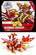 NEW - Bakugan DRAGONOID COLOSSUS Deluxe - 5 Exclusive - Gundalian BATTLE GEAR