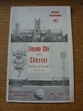 01/10/1966 Lincoln City v Chester  . Item In very good condition unless previous