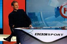 Dan WALKER Signed Autograph 12x8 Photo Football Focus TV Presenter AFTAL COA