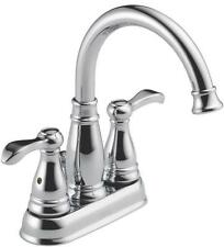 NEW DELTA 25984LF-ECO CHROME LEAD FREE 2 HANDLE LAVATORY FAUCET ASSEMBLY 1161736