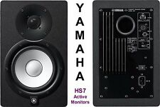 "YAMAHA HS7 Active 190w 6.5"" Studio Nearfield Reference Monitors $50 Instant Off"