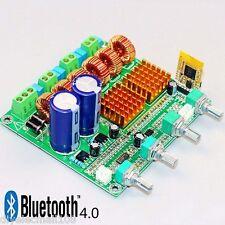 Bluetooth 4.0 Digital 2.1 Class D HIFI Power Amplifier Board 3CH Super Bass Amp