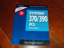 Wiley Professional Computing Ser.: System 370-390 Job Control Language by...