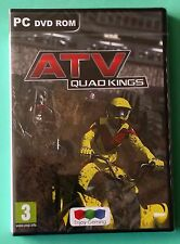 ATV QUAD KINGS PC DVD-ROM QUAD BIKE RACING DRIVING GAME brand new & sealed UK