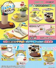 01/2017 Re-Ment Miniature Sanrio Gudetama Mat Collection Full set of 4 pcs