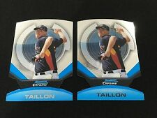 (2) JAMESON TAILLON ROOKIES INSERTS DIE CUT 2011 BOWMAN CHROME RC BASEBALL CARDS