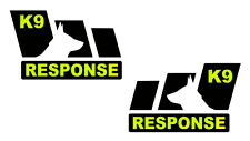BESPOKE K9 RESPONSE VEHICLE STICKER DECALS                         (s205)