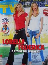TV Sorrisi e Canzoni n°22 2012 Federica Panicucci Lorella Cuccarini  [C95]