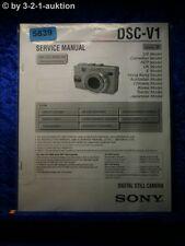 Sony Service Manual DSC V1 Level 2 Digital Still Camera (#5839)