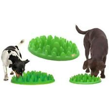 Green Interactive Med - Large Dog Puppy Slow Feed Bloat Non Slip Feeder Bowl 16""