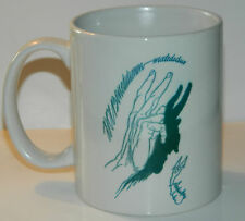 AUSTIN OSMAN SPARE - A SUPERB COLLECTABLE 110z MUG - FEATURING DRAWING / QUOTE