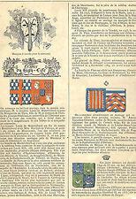 NOBLESSE DE MONTRICHARD DE FLERS DE MERODE DE ROCHECHOUART MORTEMART 1881