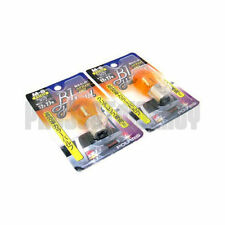 Polarg M8 Bl Hybrid 1156 Amber Light Bulbs Lightbulbs Pair M-8 JDM