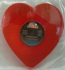 """YARBROUGH & PEOPLES - Heartbeats  7"""" Vinyl *SHAPED PIC DISC* *MINT*"""