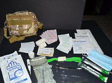 60+pc IFAK First Aid Kit Bag Pouch Trauma Medical Utility Molle - (MultiCam 2)
