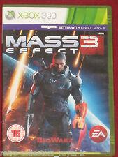 Microsoft XBOX 360 Game MASS EFFECT 3 UK PAL