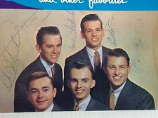 Jr. Blackwood Brothers sing songs our fathers sang LP Skylite 6016 auto by 5