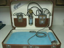 VINTAGE NIAGARA THERAPY BLUE CYCLOPAD & HAND MASSAGER IN CASE WITH KEY WORKS