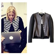 BALENCIAGA CURVING EGG-SHAPED CROPPED JACKET (FR38) NWT