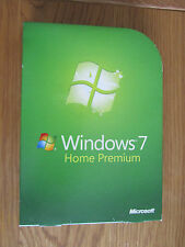 Genuine Windows 7 Home Premium 64bit DVD Product Key COA Full OEM Version  SP1
