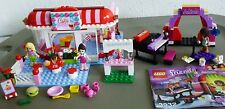 2 LEGO FRIENDS SETS 3061 CITY PARK CAFE & 3932 ANDRIA'S STAGE + Lemonade Stand