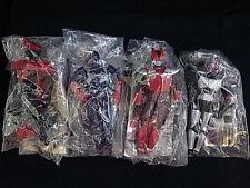 Bandai Masked Kamen Rider 4 Candy Toy Model Figure Hibiki Kabuto Decade Den-O