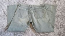 Men's Diesel Industry Jeans Light Wash Button Fly Made In Italy Size 36 B26