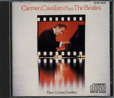CARMEN CAVALLARO Plays The Beatles JAPAN Only CD 1983 CP35-3038 BLACK TRIANGLE