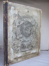 1873 Elementary Treatise on Physical Geography - Physical Phenomena of the US HB