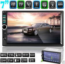 "7"" Double 2 DIN In Dash Car Stereo MP3 USB SD Bluetooth IPOD FM MP5 Radio USA OY"