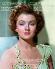 MYRNA LOY Large Metal Strap Gown | Beautiful 8x10 COLOR Photo by CHIP SPRINGER